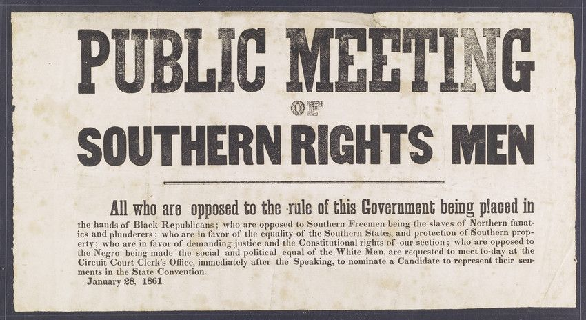 states rights doctrine - Google Search | Road to Civil War ...