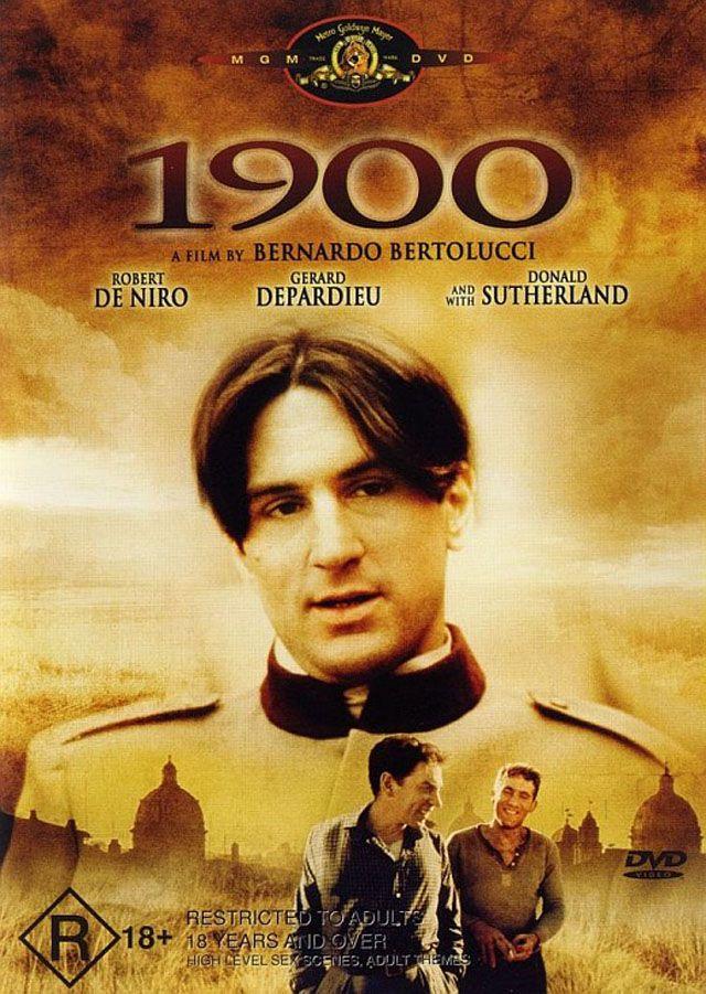 cartel de la pelicula novecento