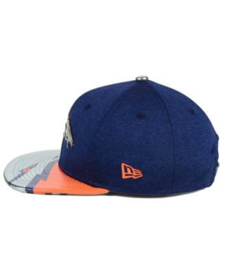 New Era Boys' Denver Broncos 2017 Draft 9FIFTY Snapback Cap - Navy/Orange Adjustable