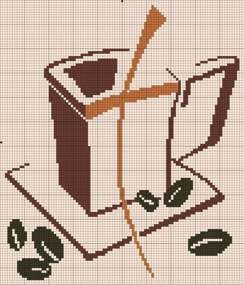 Esquemas De Ponto De Cruz Ponto De Cruz Pinterest Ponto Cruz  ~ Ponto Cruz Cozinha Moderna