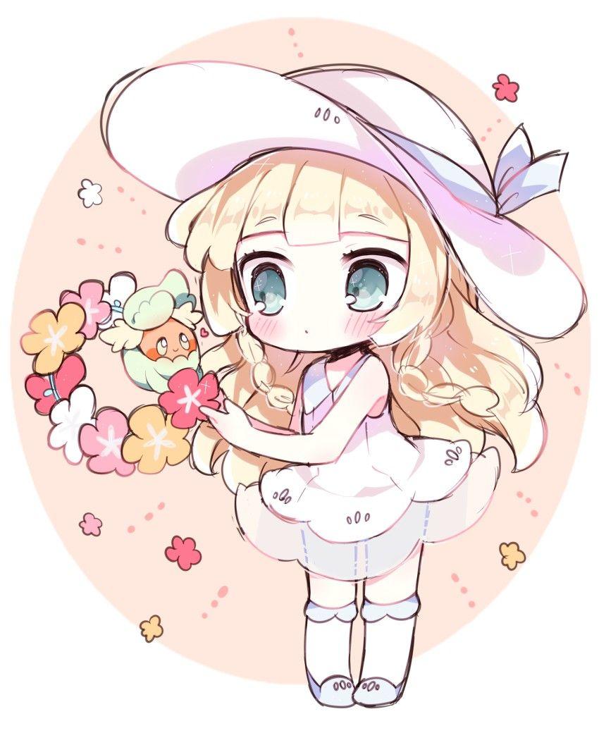 Lillie Anime Chibi Cute Pokemon Cute Anime Chibi