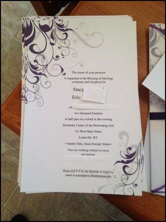 Wedding invitations kits hobby lobby wedding ideas pinterest wedding invitations kits hobby lobby stopboris Image collections