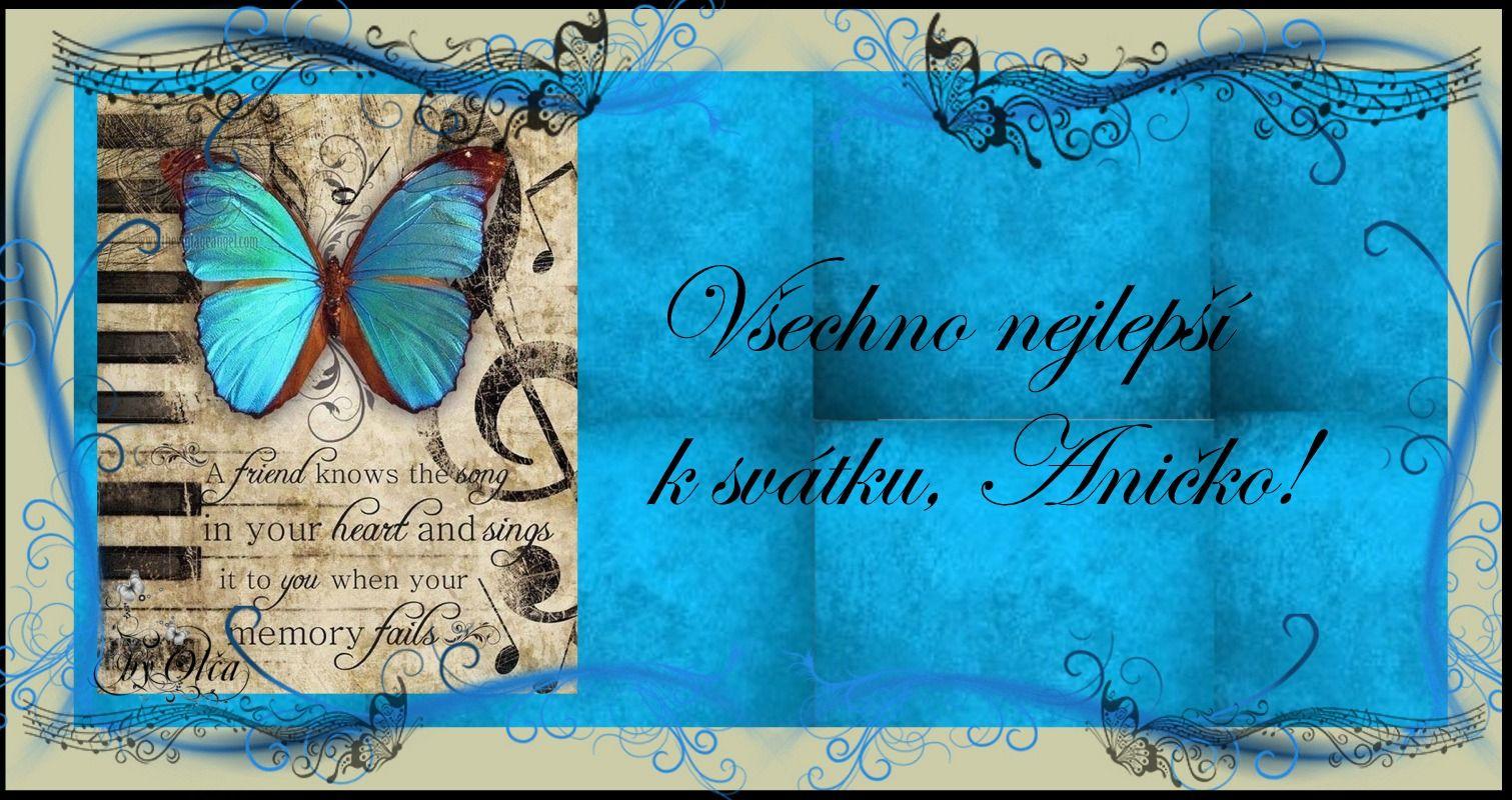 přání k svátku anna přání k svátku Anna | by Olča   přáníčka | Pinterest přání k svátku anna