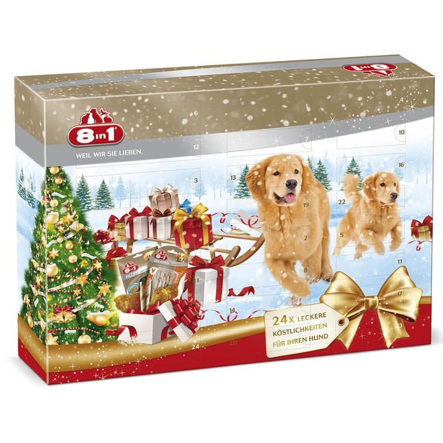 8in1 adventskalender f r hunde online g nstig kaufen advent calendars for pets pinterest. Black Bedroom Furniture Sets. Home Design Ideas