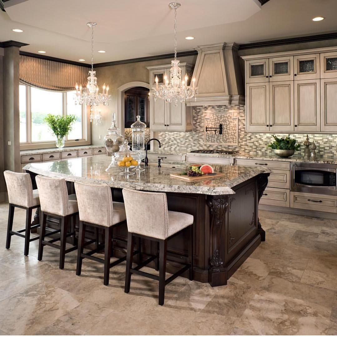 "Classic Kitchen Design Interior Design Inspiration On Instagram ""Classic Kitchen Designs"