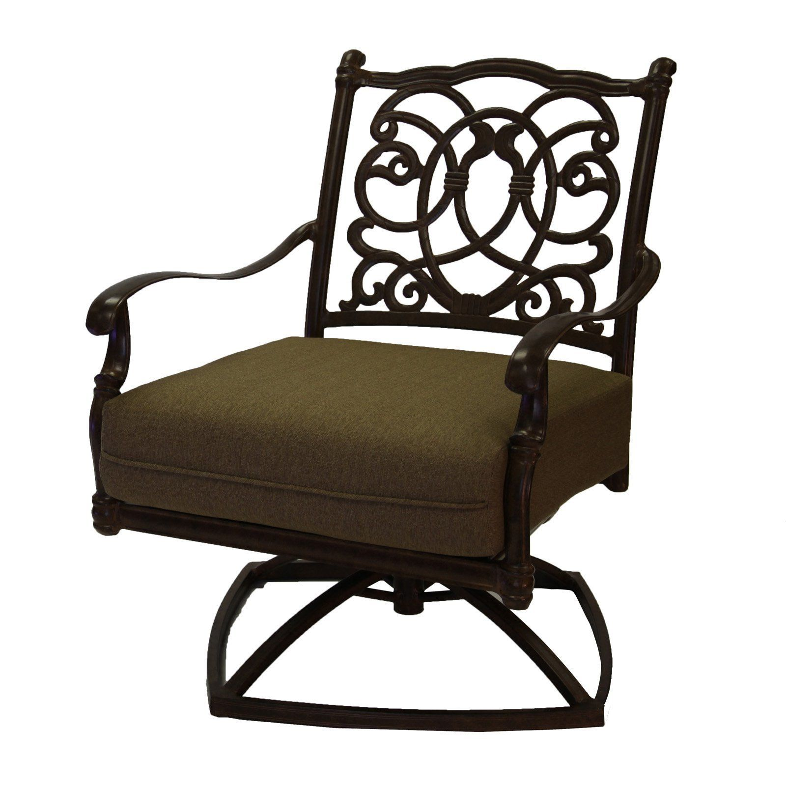 Outdoor Darlee Florence Swivel Rocker Patio Club Chair