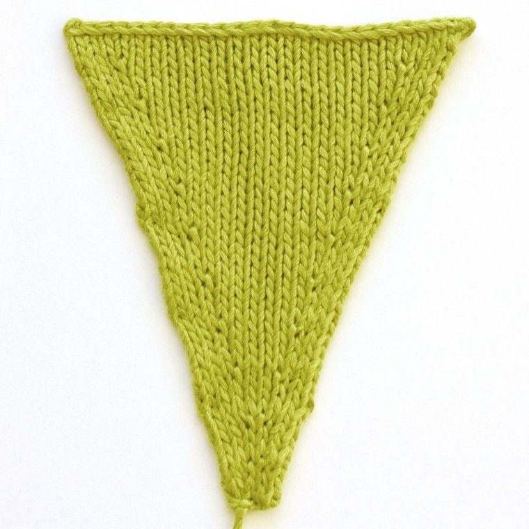 Les diff rentes fa ons de faire une augmentation tricot crochet pinterest tricot tricot - Faire une augmentation en tricot ...