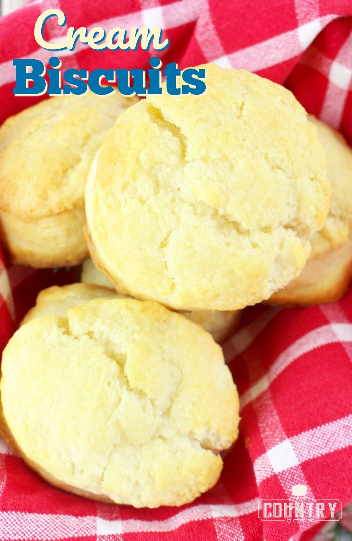 2 Ingredient Cream Biscuits Video The Country Cook Recipe Homemade Biscuits Cream Biscuits Biscuit Recipe