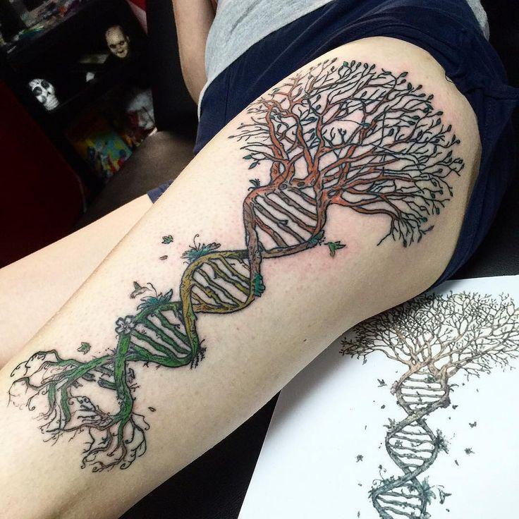 Pin On Tangled Tree Dna Tattoo