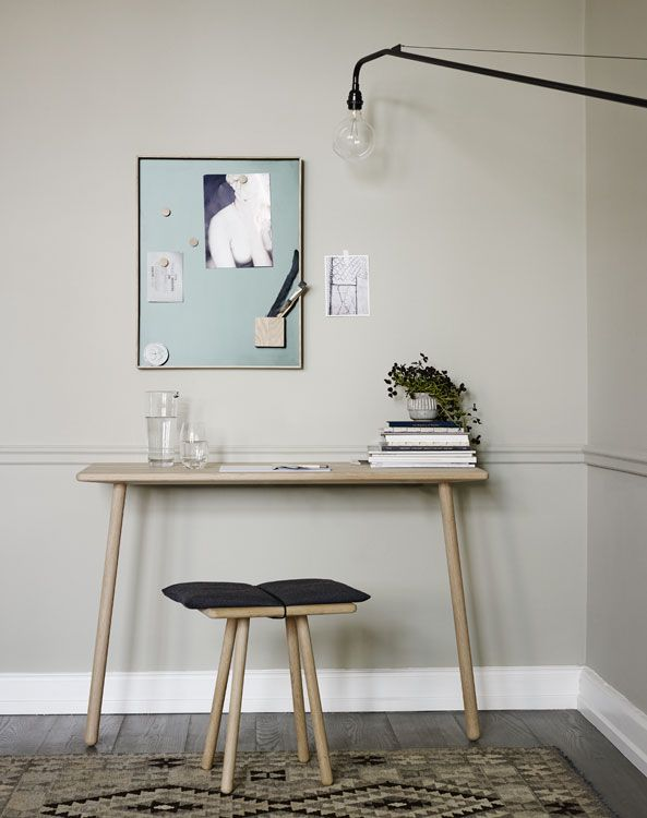 Designermöbel holz  Georg console table | Schreibtisch | Pinterest | Konsolentisch ...