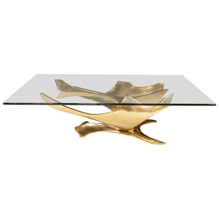 Fred BROUARD  Bronze Sculpture/cocktail Table | From A Unique Collection Of  Antique And