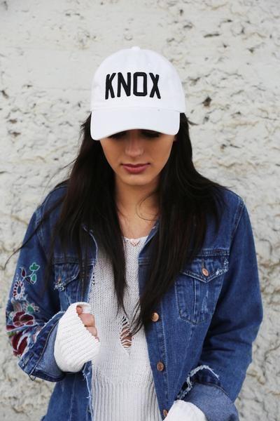 White/Black KNOX Original Ball Cap