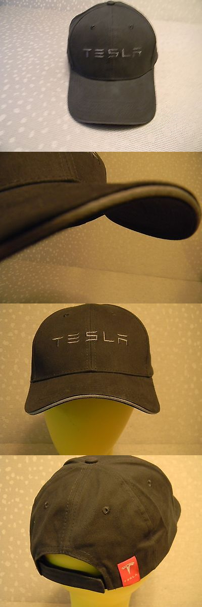Hats 163543  Rare Tesla Black And Grey Hat Cap Nwt -  BUY IT NOW ONLY    34.99 on eBay! df2b05ed456