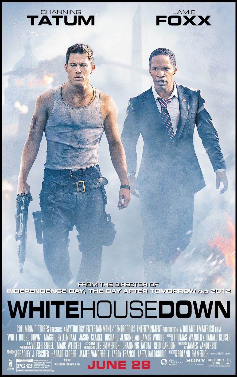 Sng Movie Thoughts Review White House Down Byzantium Disconnect In 2020 White House Down Movies Really Good Movies