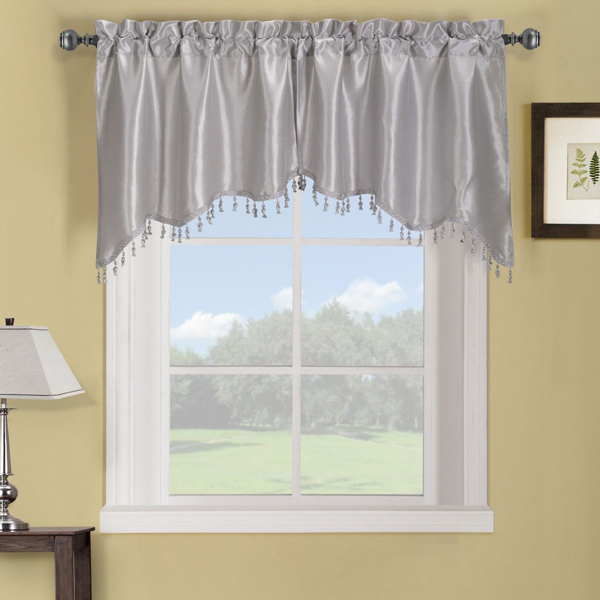 Cheap window coverings  the soho swag valance simplify the casual and contemporary styling