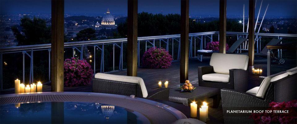 Rome Cavalieri Waldorf Astoria Luxury hotel, Astoria