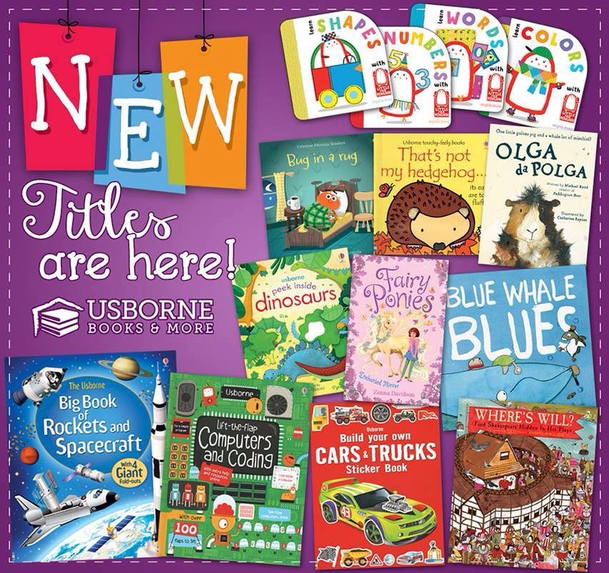 Check out our new titles at usborne