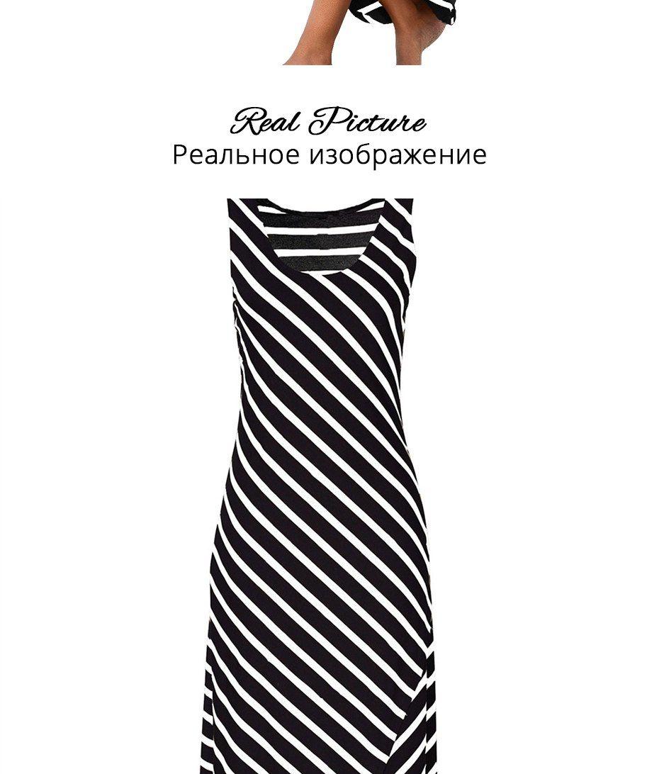 b1b4a1259a2  30.99 - Awesome TIGENA Women Summer Dress 2018 Summer Sundress Female  Striped Long Maxi Dress Tunic