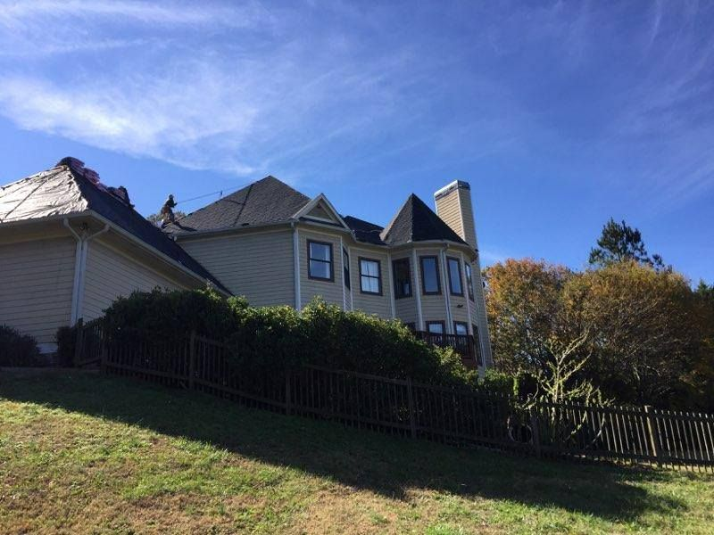 Affordable And Reliable Roofing And Gutter Services In Atlanta Ga Your Trustworthy Roofing Company With Quality Ro With Images Beautiful Roofs Roofing Contractors Roofing