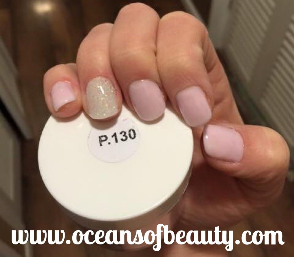 Pin Sparkle Luxe Nails Ez Dip Powder - Year of Clean Water