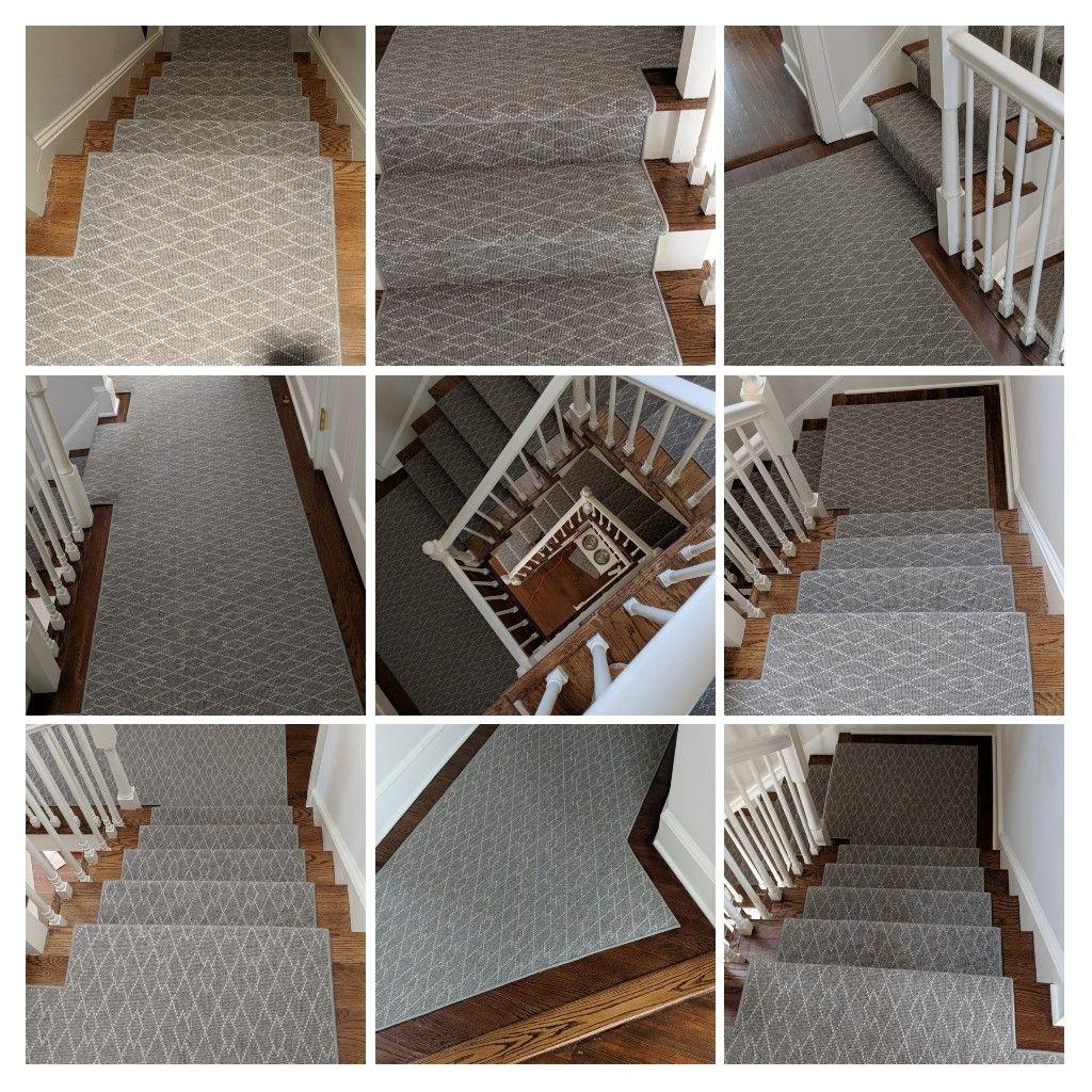 Beautiful Stair Runner We Just Installed By Prestige Mills Style