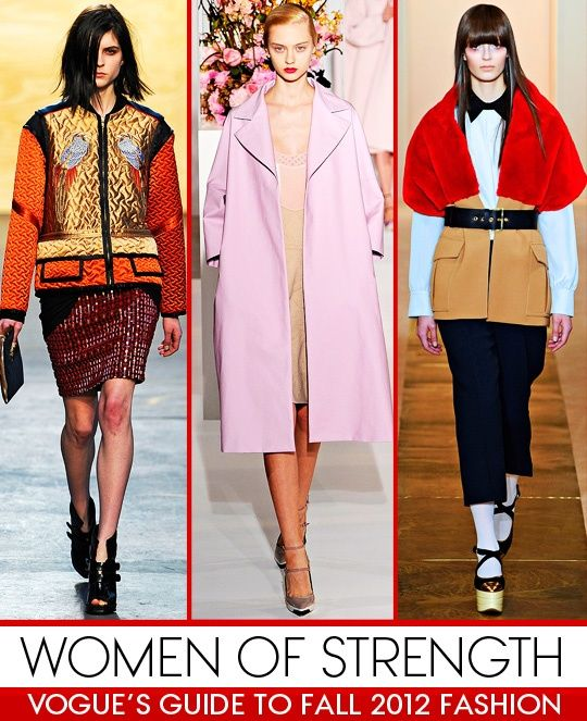Jil Sander - Milan - Fall 2012 - Pink Trench mirrors Jacklyn Kennedy's style