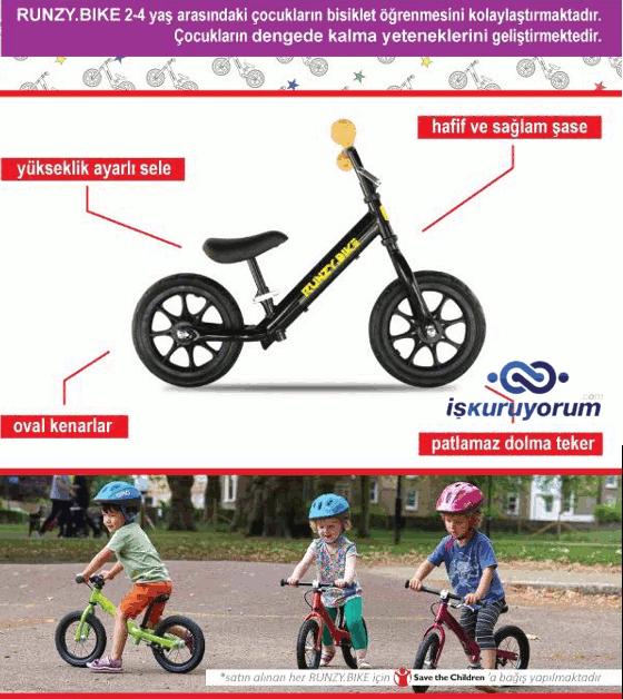 Runzy Denge Bisikleti Bayilik Bisiklet