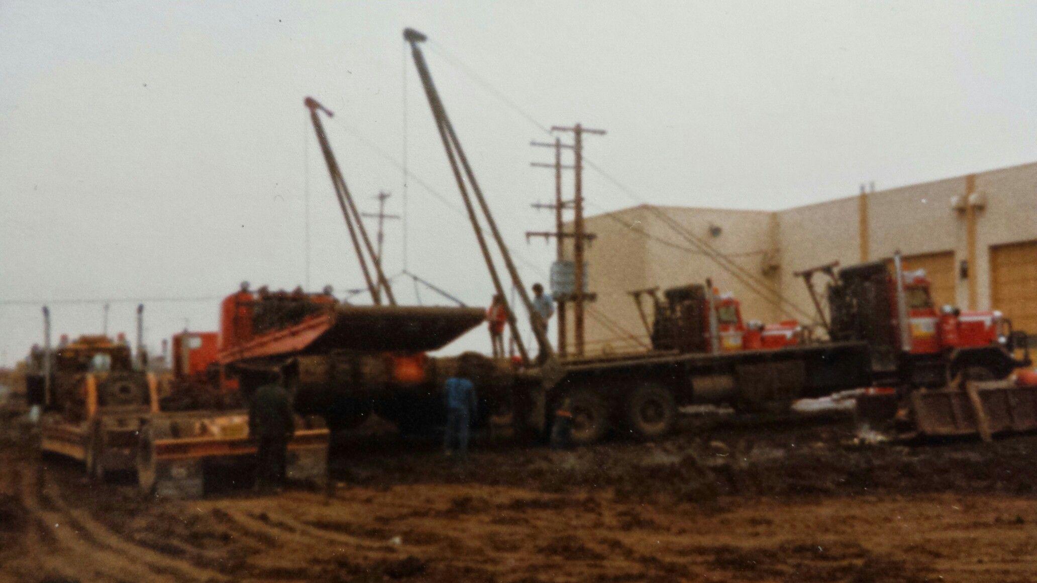 E&o loading out oilfield dynahaul nodwel on premay