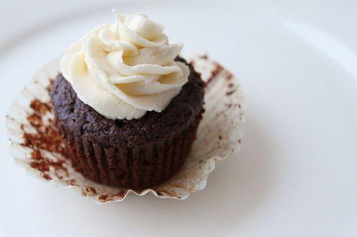 100 Cal chocolate cupcake!