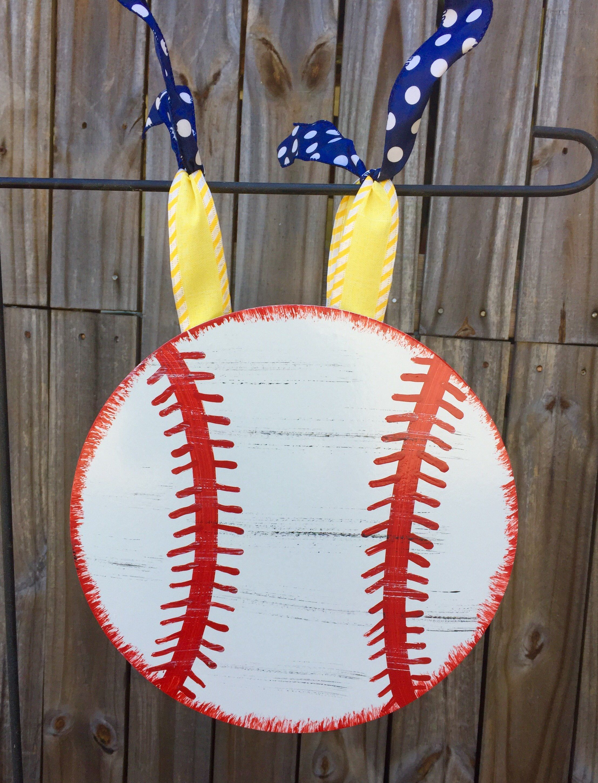 Baseball Flag Hanger, Mini Flag Pole Hanger, Sports Decor, Summer Decor by SpecialgiftsbyTammy on Etsy