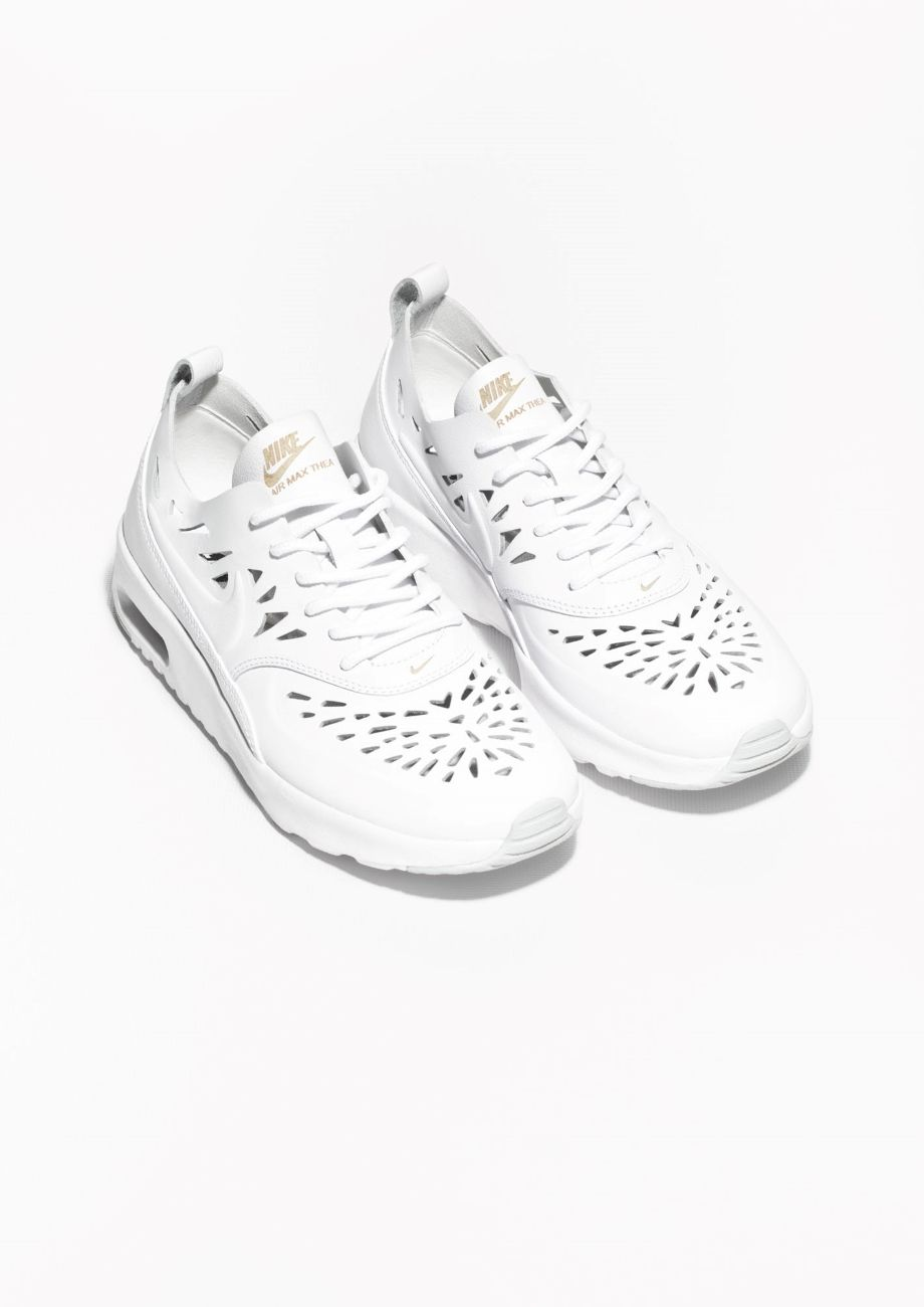 the best attitude 72405 c47b7 11 of our favorite minimalist sneakers  Air Max Thea  Joli  in White