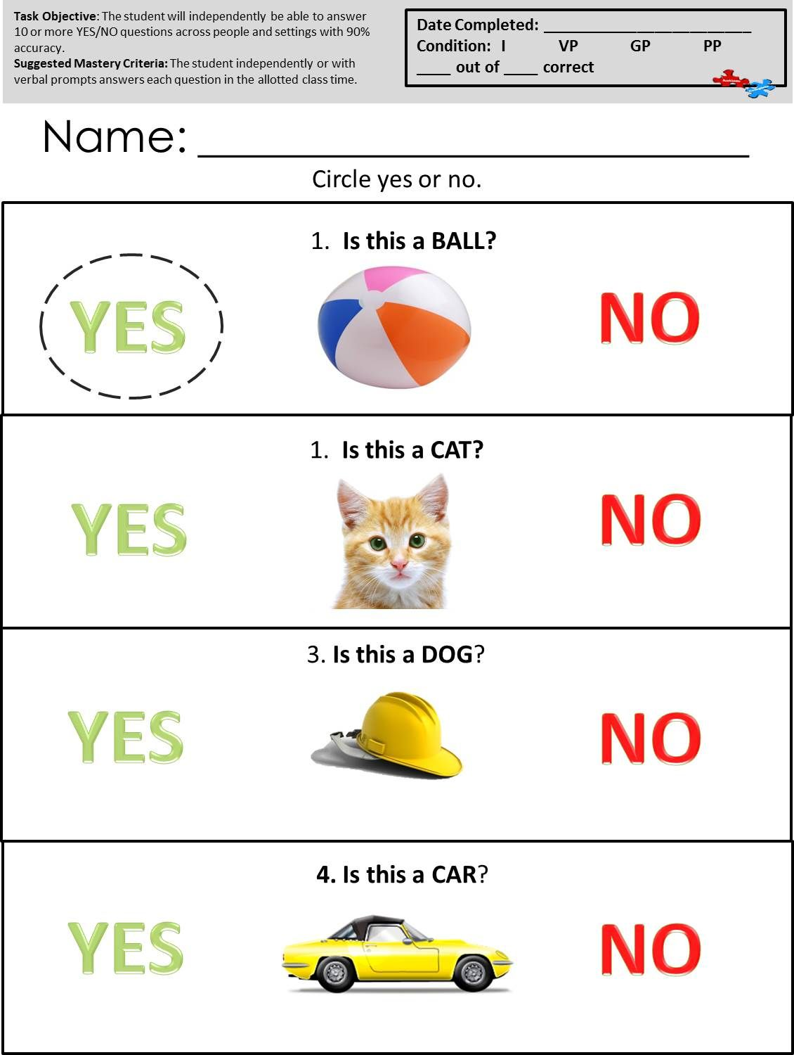 Check Out These Great Worksheets At Www Autismcomplete Com Autism Worksheets Speech Therapy Worksheets Autism Teaching [ 1500 x 1130 Pixel ]