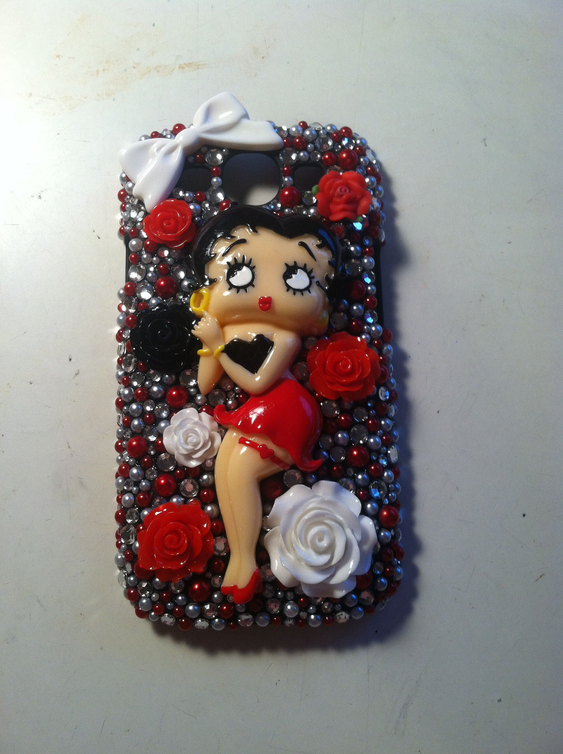 Galaxy 3 Betty Boop phone case from my shop on Etsy- Cherbearphonecases