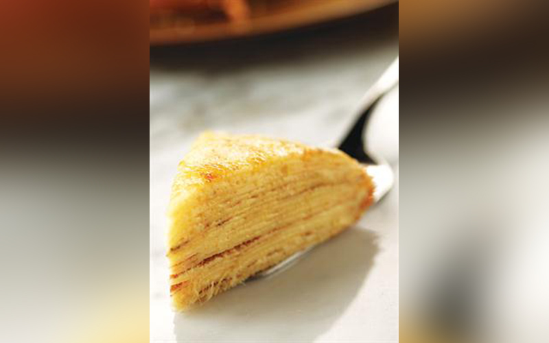 Mille Crepe Durian Resep Aroma Sayuran