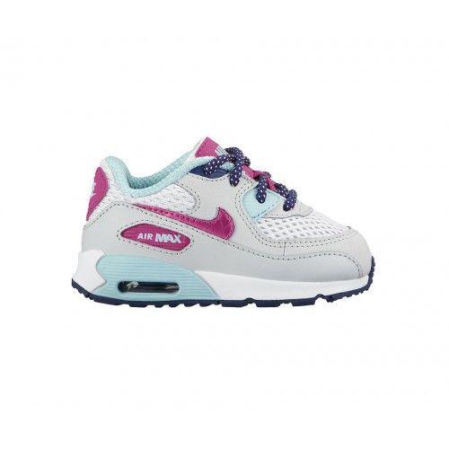 air max 90 print white/white wolf grey ayakkabı