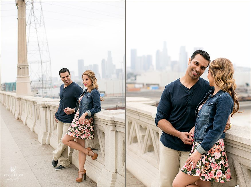 Downtown Los Angeles Art District Engagement Wedding Photography By Kevin Le Vu Photographer 10