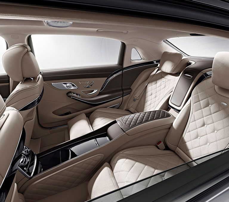 2016 mercedes maybach s class interior rear seats