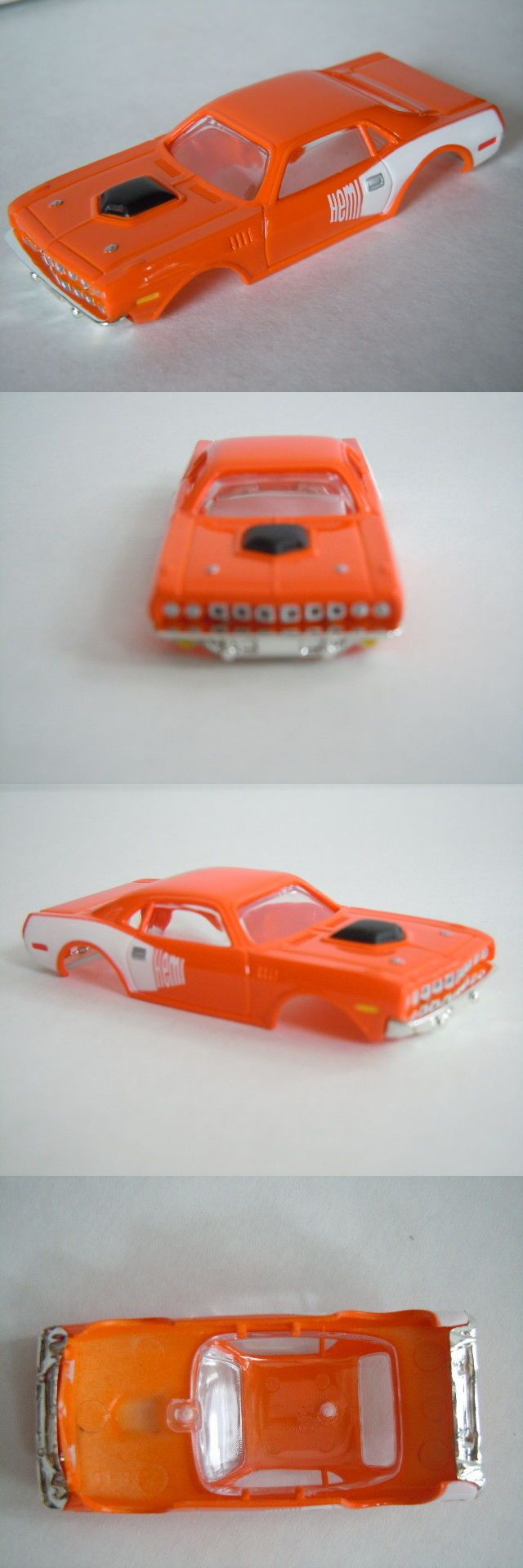 Ho Scale 164787 New 1971 Hemi Cuda Snap Fit Slot Car Body Fits Afx Tomy Auto World Buy It Now Only 19 71 On Ebay Scale Slot Cars Hemi Cuda Body Fit