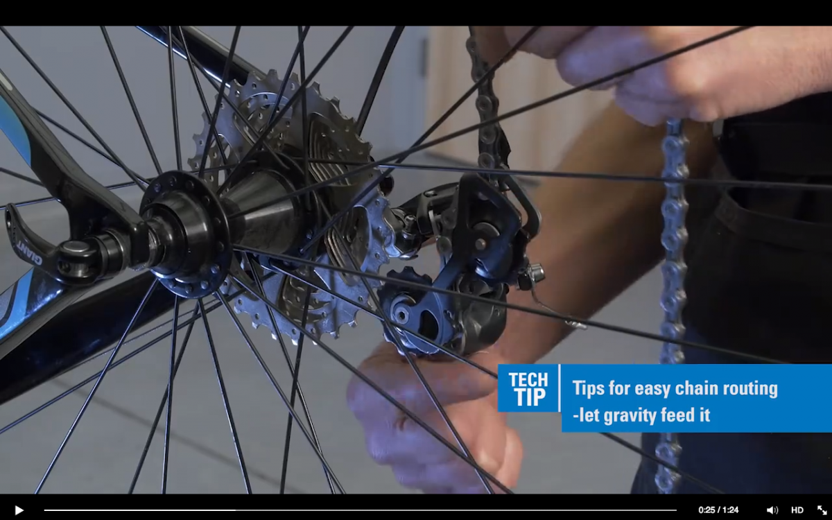 Tech Tuesday Tips For Easy Chain Routing Mountain Biking Bike