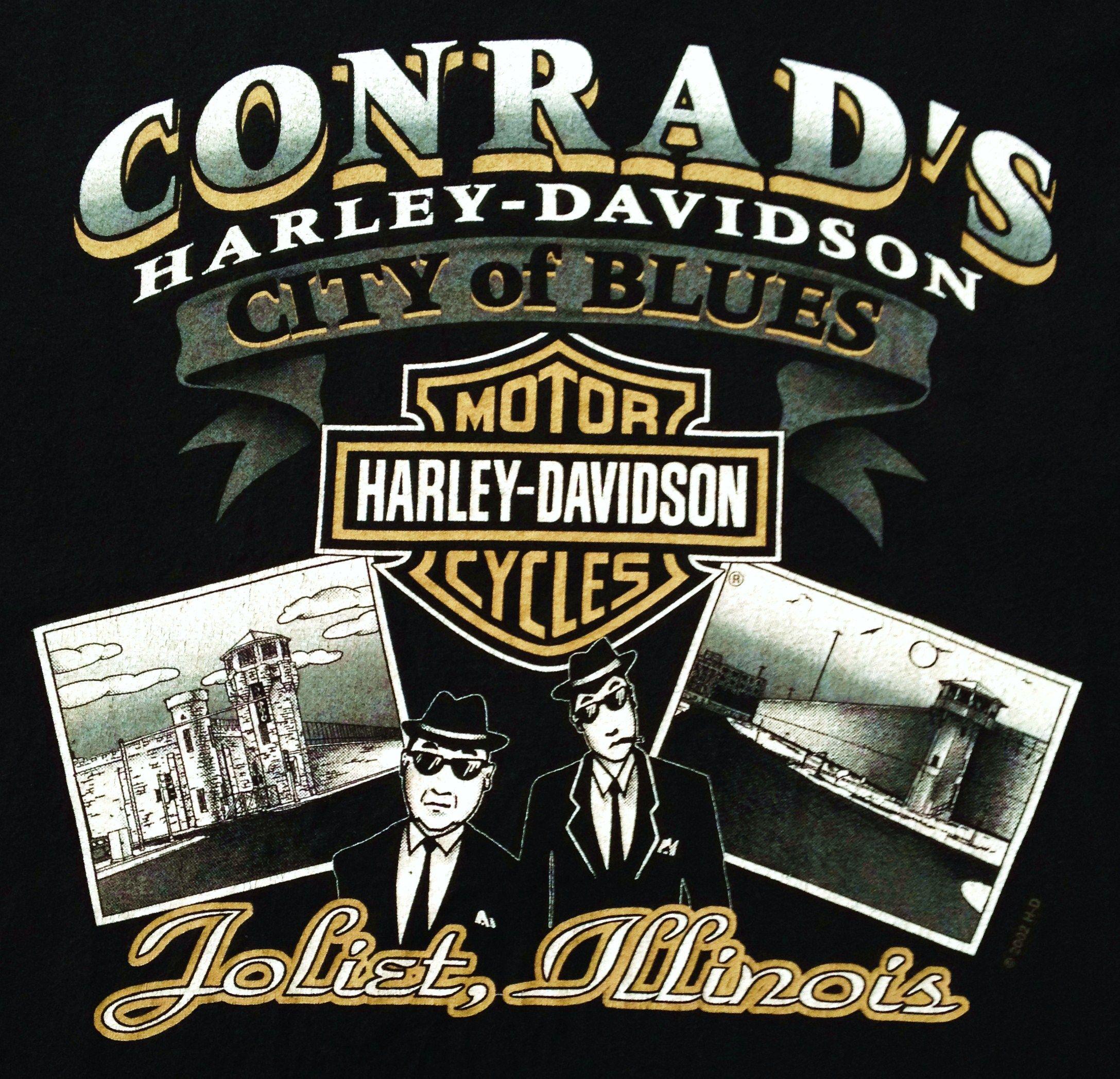 Conrads Harley Davidson >> Conrad's H-D Joliet, IL back | Harley davidson dealership, Harley davidson posters, Harley ...