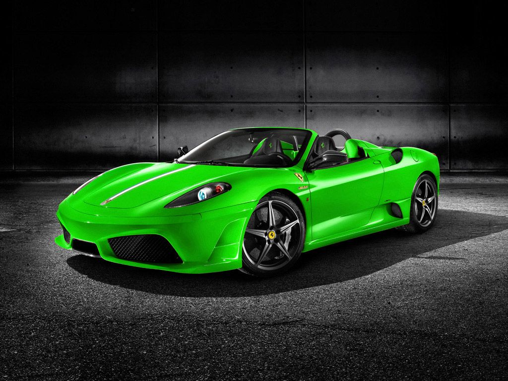 Cool Green Cars Ferrari Car Pictures Images Super
