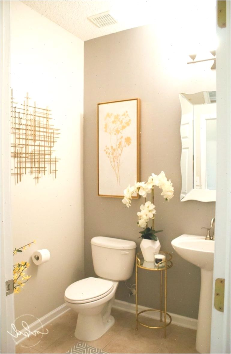 Elegant Half Bath on a Budget #Bath #bath #Bathdecor ...