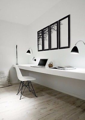 Picture 10 of 10 #office #decor #design #interior #model #better #decoration #lighting #workingplace #HomeDecorCozy