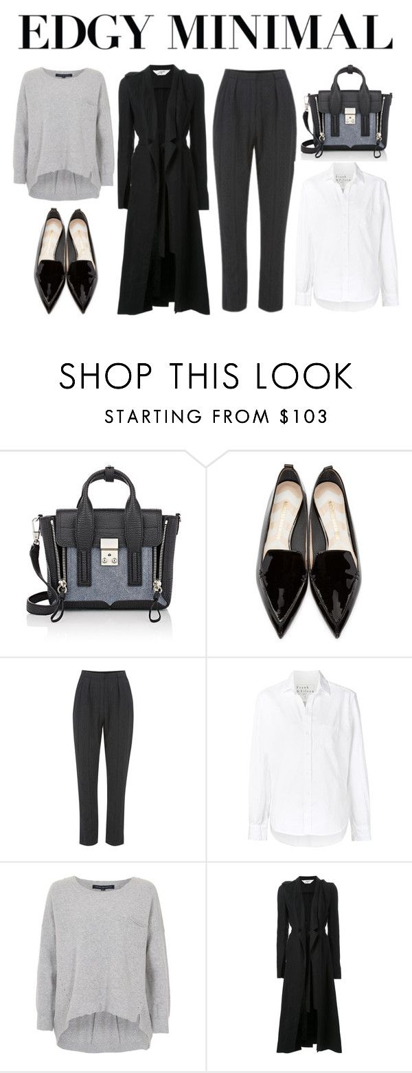 """professional "" by timeless-fashion-chic ❤ liked on Polyvore featuring 3.1 Phillip Lim, Nicholas Kirkwood, The Fifth Label, Frank & Eileen, French Connection and Kitx"