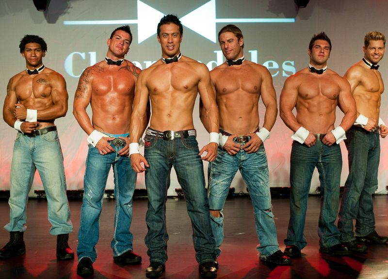 Sexy male strippers with big dicks