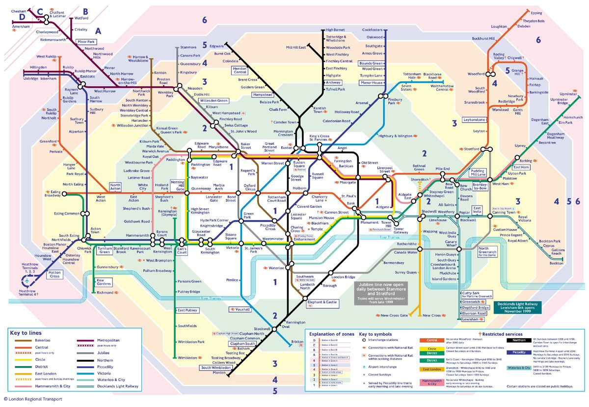 The London Underground - Making sense of chaos | Design | London map on london building map, london train map, trafffic charge london map, london rex, london fallen angel, london monitor, london zone 1, london tube passes for tourists, london home map, london congestion charge map, london cambridge map, london bus map, london red map, london metro map, london travel zones, london sky pool, london map tourist, london global map, london postcode map, london points of interest,