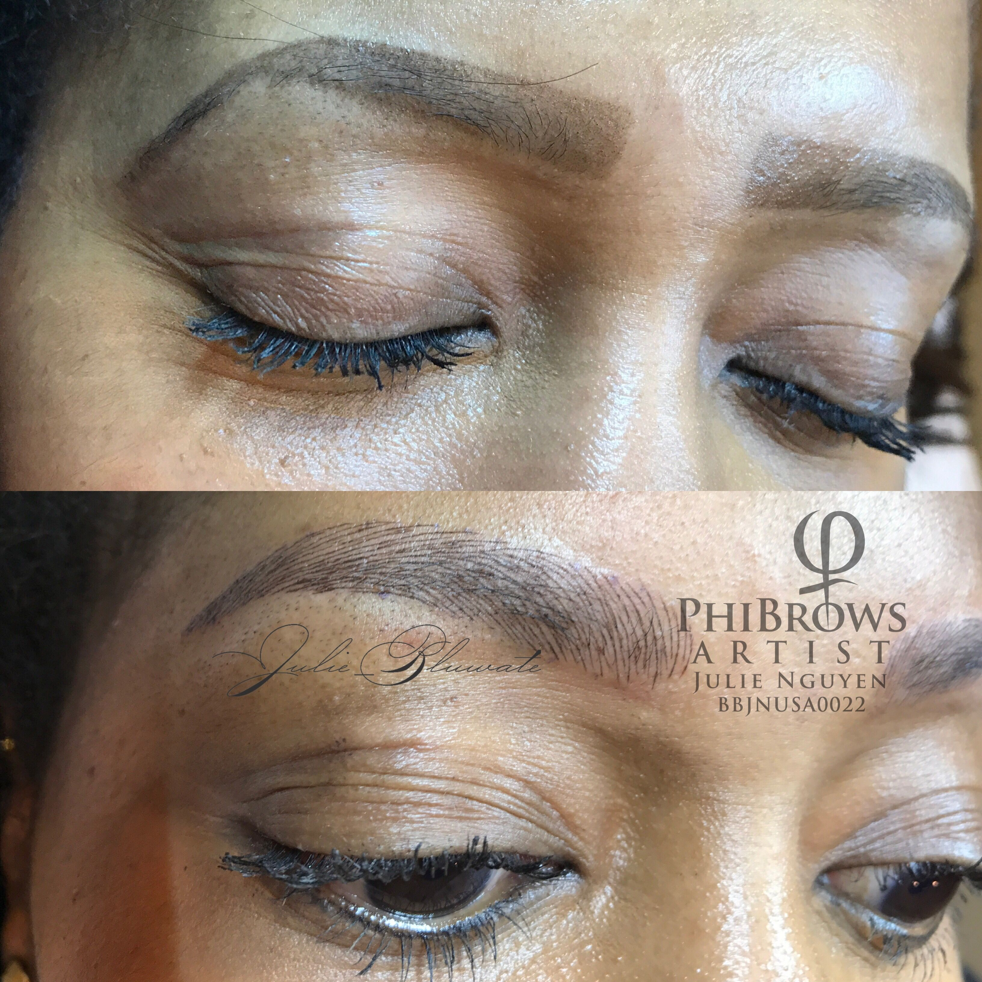 Microblading by blu water day spa