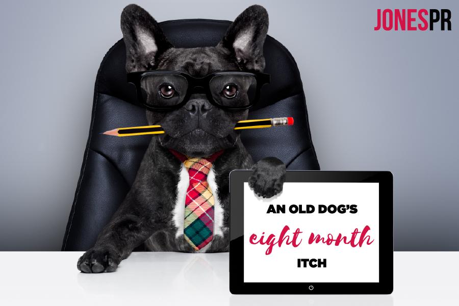 An old dog's eightmonth itch Jones PR, Oklahoma City
