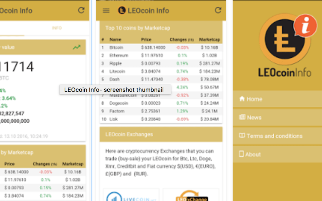 LEOcoin description