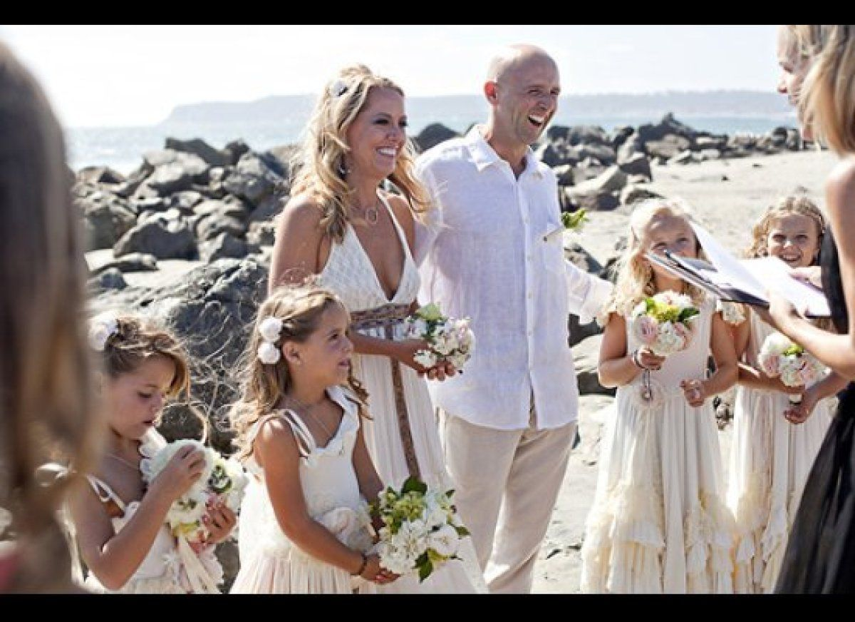Beach Vow Renewal Ceremony: LOOK: Melissa D'Arabian's Adorable (And Affordable!) Vow